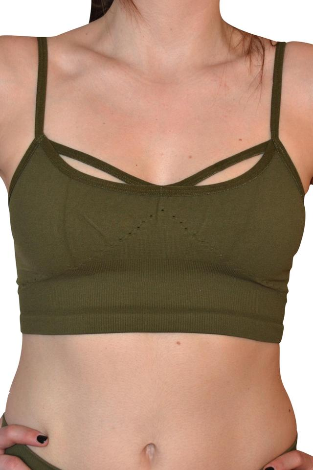 d5df1e1003 Free People Moss Barely There Activewear Sports Bra Size 10 (M