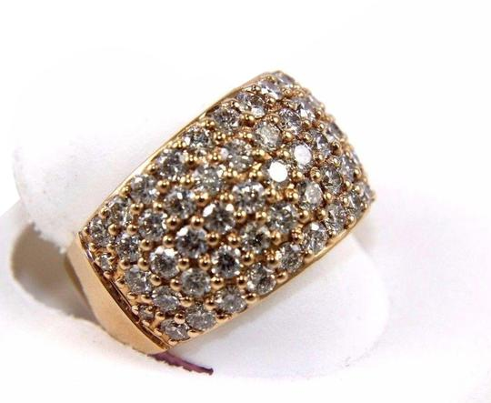 Preload https://img-static.tradesy.com/item/24607818/white-round-diamond-wide-5-row-cluster-dome-band-14k-rose-gold-336ct-ring-0-2-540-540.jpg