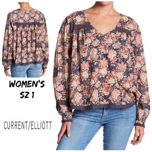 Current/Elliott Top Mini Phoenix Floral