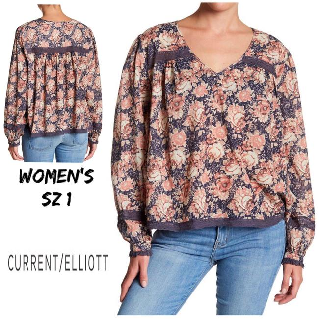 Preload https://img-static.tradesy.com/item/24607849/currentelliott-mini-phoenix-floral-the-lace-picnic-blouse-size-2-xs-0-0-650-650.jpg