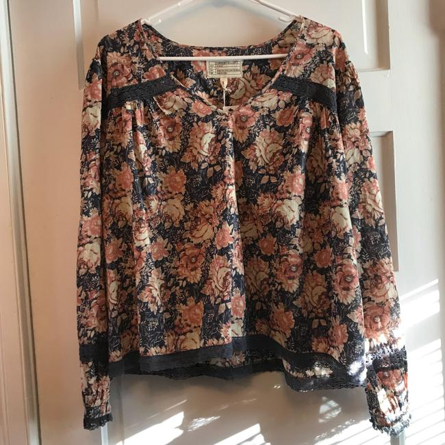 Current/Elliott Top Mini Phoenix Floral Image 1