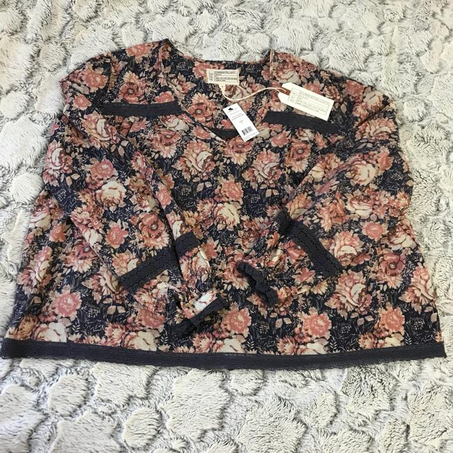 Current/Elliott Top Mini Phoenix Floral Image 3