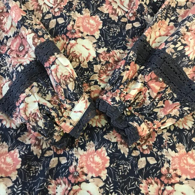 Current/Elliott Top Mini Phoenix Floral Image 6
