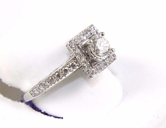 Other GIA Round Diamond Solitaire Ring w/Diamond Accents 14k WG 2.00Ct Image 2