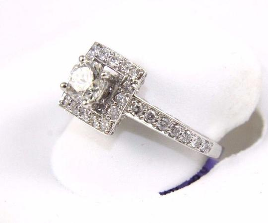 Other GIA Round Diamond Solitaire Ring w/Diamond Accents 14k WG 2.00Ct Image 3