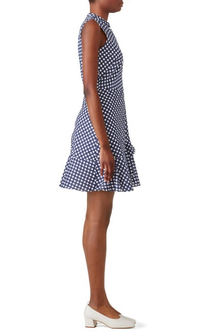 Shoshanna short dress Navy/White on Tradesy Image 2