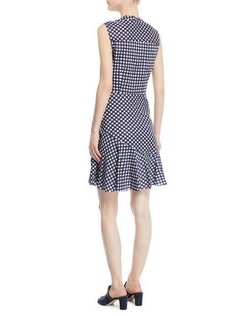 Shoshanna short dress Navy/White on Tradesy Image 3