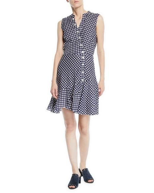 Shoshanna short dress Navy/White on Tradesy Image 4