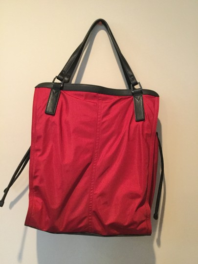 Burberry Tote in Red Image 2