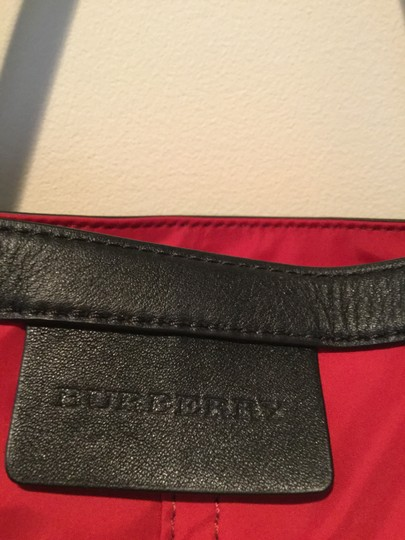Burberry Tote in Red Image 7