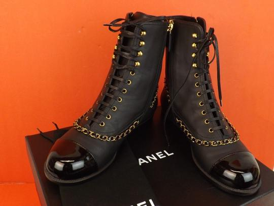 Chanel BLACK Boots Image 6