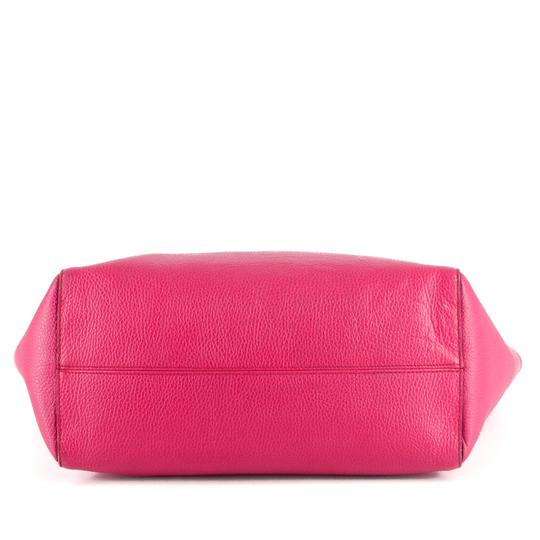 Gucci Bright Leather Tote in Hot Pink Image 6