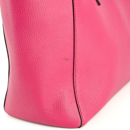 Gucci Bright Leather Tote in Hot Pink Image 8