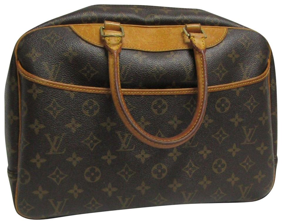 9d2d912caacb Louis Vuitton Deauville Lv Bowling Vanity Monogram Cosmetic Brown ...