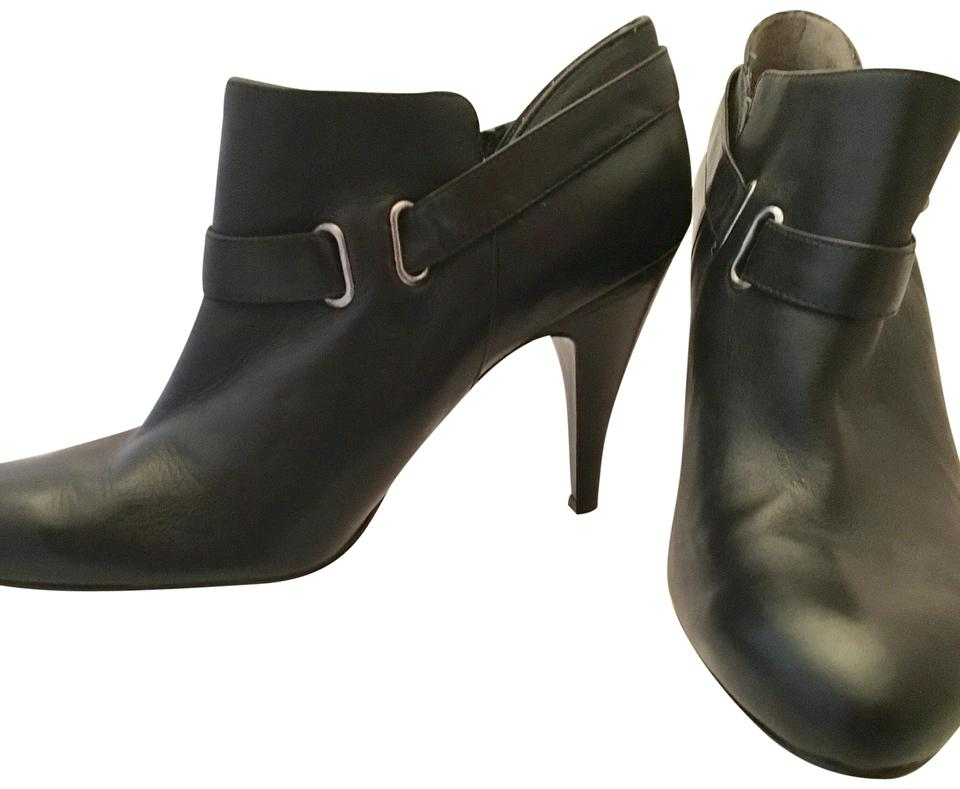 d8c8a780a866 Nine West Sappheir Leather Boots Booties Size US 9 Regular (M