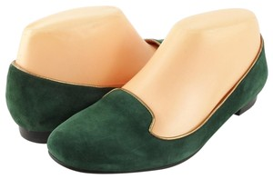 Via Spiga Loafers Hunter Green Flats