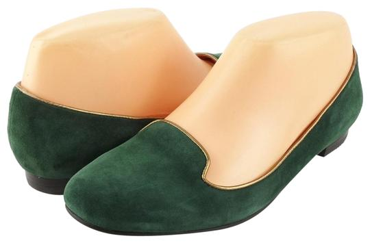 Via Spiga Loafers Hunter Green Flats Image 0
