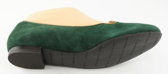 Via Spiga Loafers Hunter Green Flats Image 2