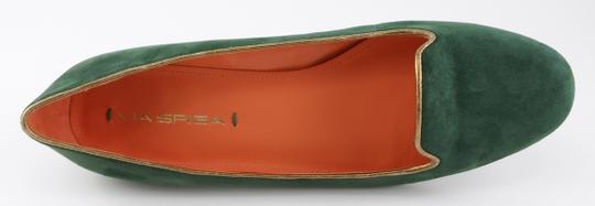 Via Spiga Loafers Hunter Green Flats Image 3