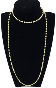 other beaded chain necklace