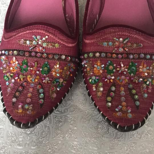 Michael Shannon Pink Beaded Work Pumps Image 2