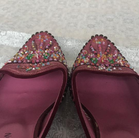 Michael Shannon Pink Beaded Work Pumps Image 7