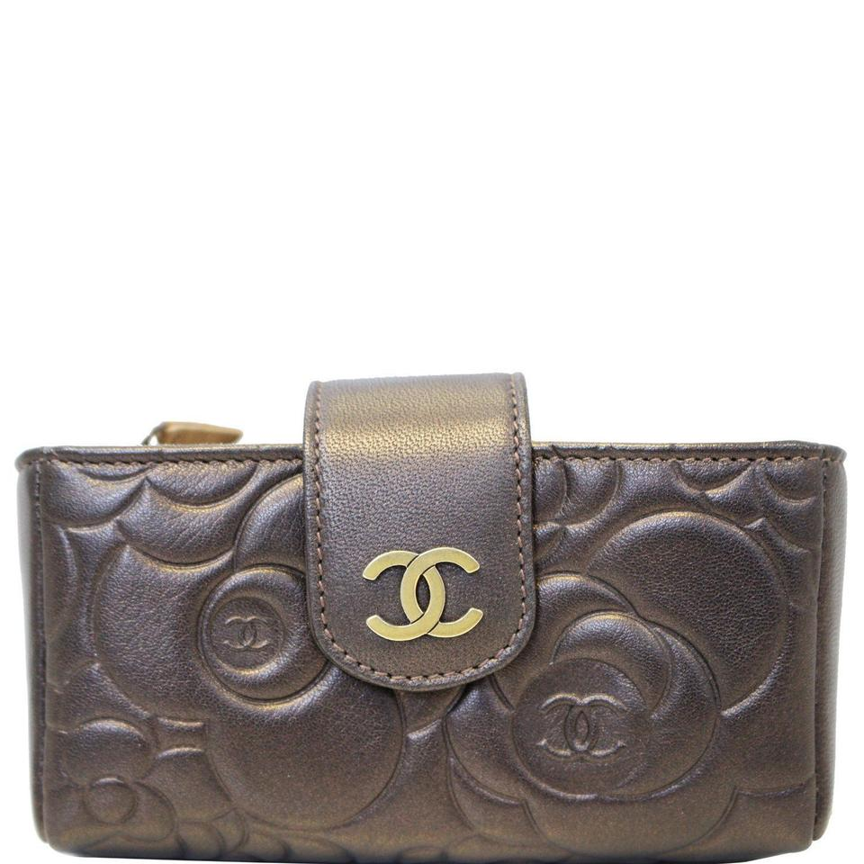 ea71999a96b358 Chanel CHANEL Caviar Quilted O-Mini Phone Holder Clutch Image 0 ...