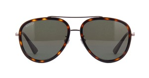 Gucci Tortoise Aviator GG 0062s 012 - FREE 3 DAY SHIPPING Oversized Aviator