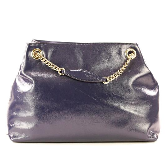 Gucci Cross Body Patent Leather Shoulder Bag Image 1