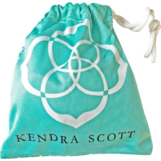 Kendra Scott Brand New Kendra Scott Delaney SILVER Slider Necklace in White Pearl Image 11