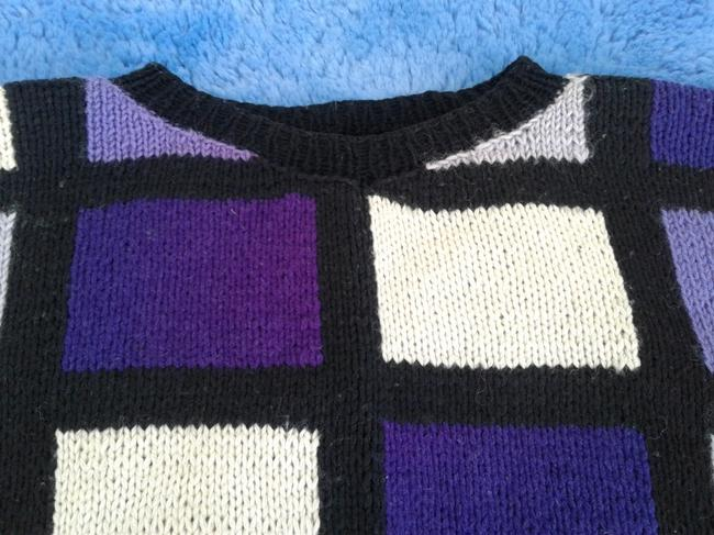The Artisan Hand Knitted Wool Crew Neck Style Sweater Image 1