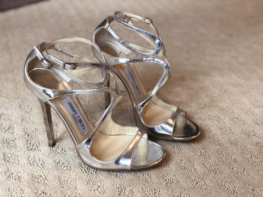 Jimmy Choo Silver Pumps Image 1