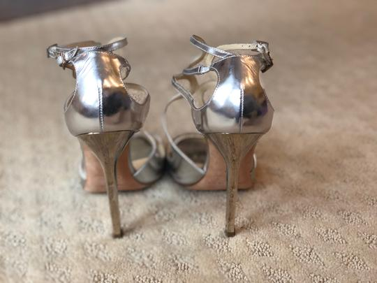 Jimmy Choo Silver Pumps Image 2