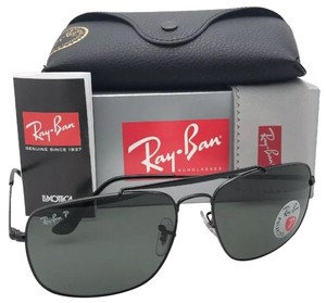 Ray-Ban Polarized RAY-BAN Sunglasses THE COLONEL RB 3560 002/58 61-17 Black