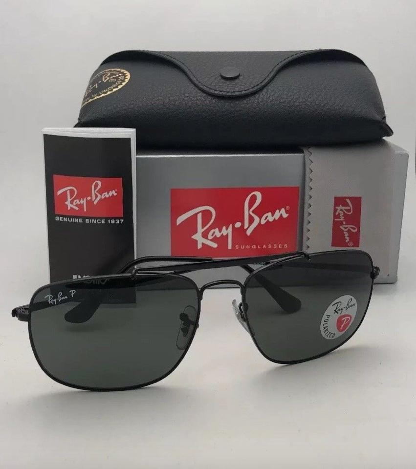 fd4ff8606b ... Polarized RAY-BAN Sunglasses THE COLONEL RB 3560 002 58 61.  123456789101112