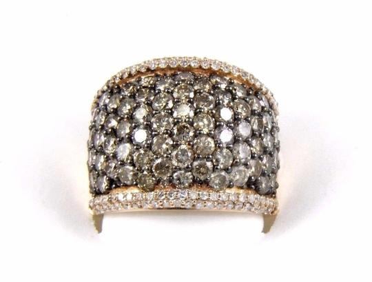 Preload https://img-static.tradesy.com/item/24608627/brown-and-gold-fancy-color-round-diamond-wide-cluster-cigar-band-14k-rg-472ct-ring-0-0-540-540.jpg
