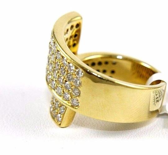 Other Bypass Round Diamond Cluster Ladys Ring Band 18k Yellow Gold 2.50Ct Image 4