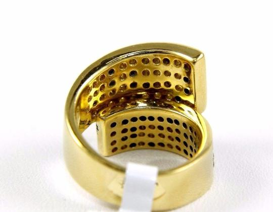 Other Bypass Round Diamond Cluster Ladys Ring Band 18k Yellow Gold 2.50Ct Image 5