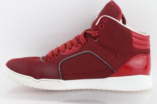 Gucci Red Men's Rebound Mid High-top Sneaker Shoes Image 3