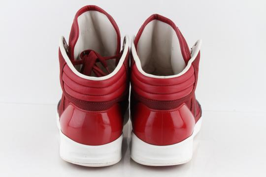 Gucci Red Men's Rebound Mid High-top Sneaker Shoes Image 5