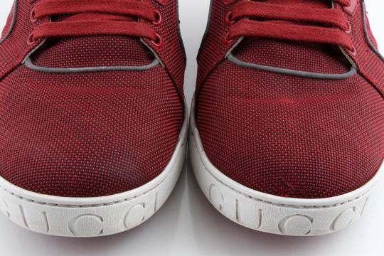 Gucci Red Men's Rebound Mid High-top Sneaker Shoes Image 7