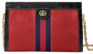 GUCCI Hot Style Sold Out Suede Shoulder Bag