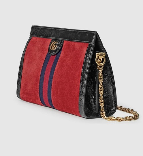 GUCCI Hot Style Sold Out Suede Shoulder Bag Image 3