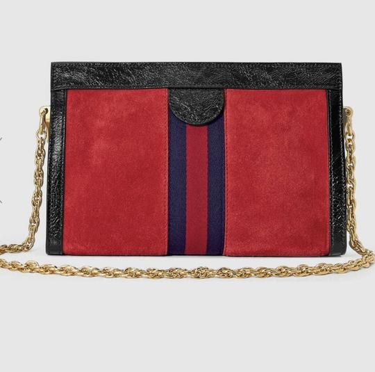 GUCCI Hot Style Sold Out Suede Shoulder Bag Image 4