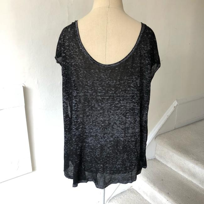 Free People T Shirt black and gray Image 1