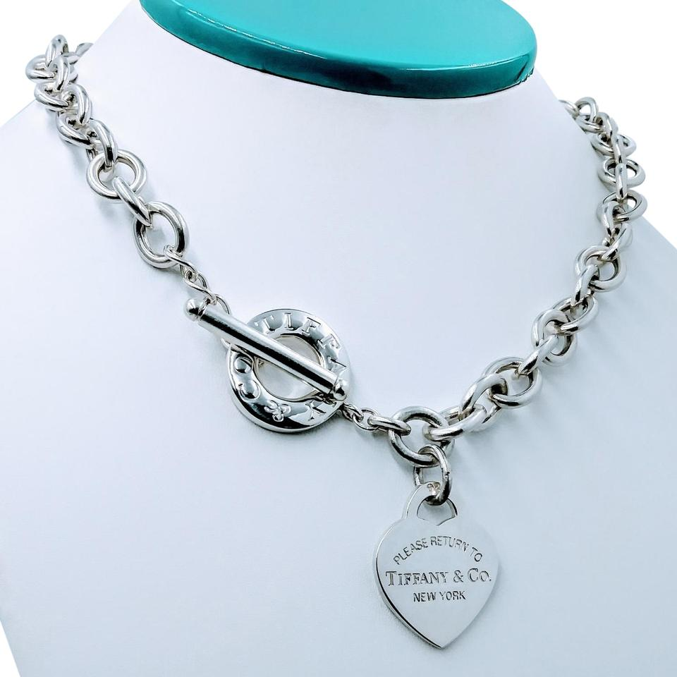 a888dd9b3 Tiffany & Co. Please return to heart tag toggle necklace Image 0 ...