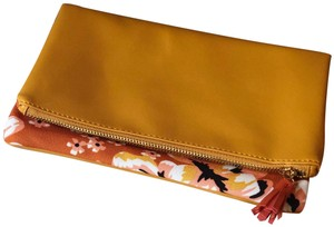 Rachel Pally Yellow and Pink Clutch