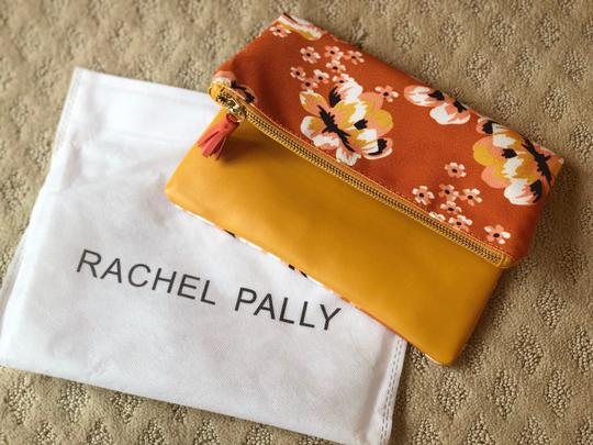 Rachel Pally Yellow and Pink Clutch Image 2