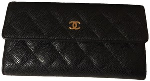 Chanel Chanel Quilted Flap Wallet Bi-fold