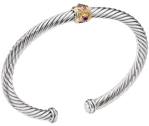 David Yurman Renaissance Bracelet 14K and Sterling